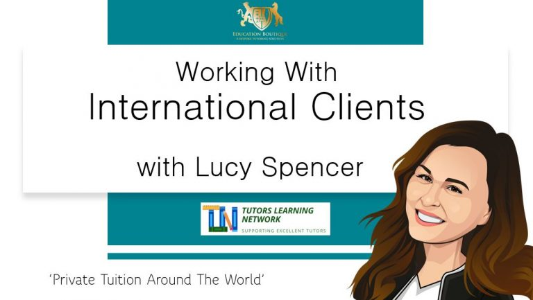 Working With International Tuition Clients