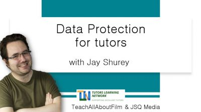 Data protection for tutors
