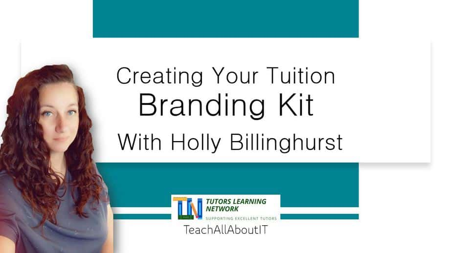 COURSE Creating Your Tuition Branding Kit